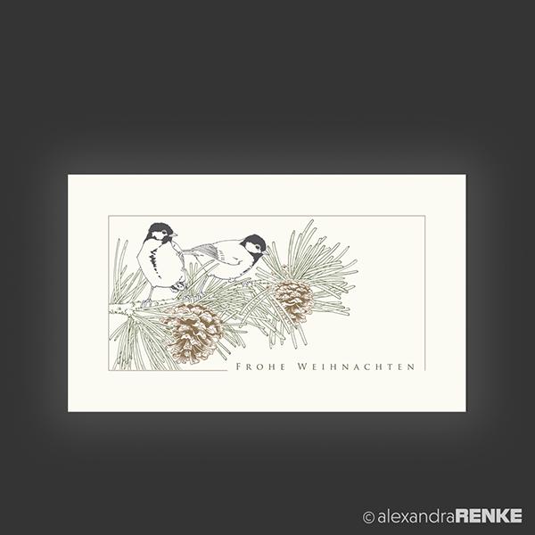 Musterkarte v gel und zapfen alexandra renke for Frank flechtwaren katalog weihnachten